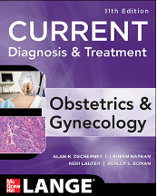 Current diagnosis & treatment obstetrics & gynecology, eleventh edition pdf
