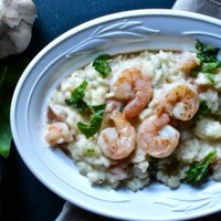 Shrimp Parmesan Risotto
