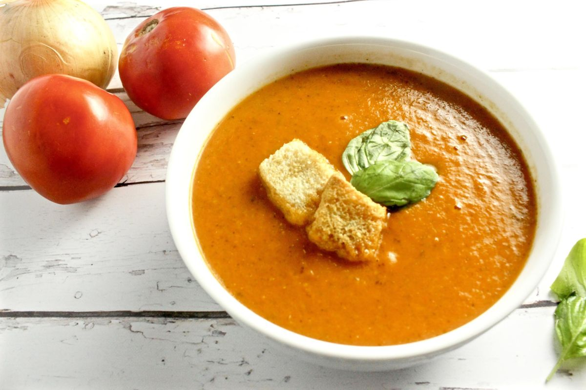 Ina Garten's Tomato Basil Soup