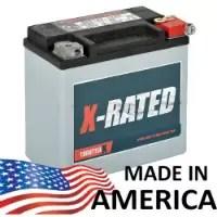 HDX14L- Harley Davidson Battery