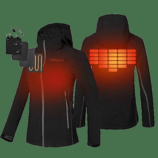 CONQUECO Women's Heated Jacket