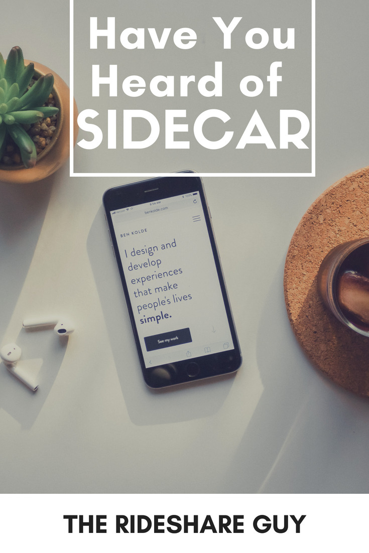 Have You Heard of Sidecar?  What do you think about Sidecar?  Are you already driving for them or do you think it's not a good idea to drive for more than one rideshare company? #sidecar #ridesharing #ridesharingapp