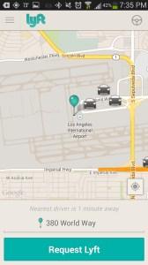 Lyft LAX Airport Pickup