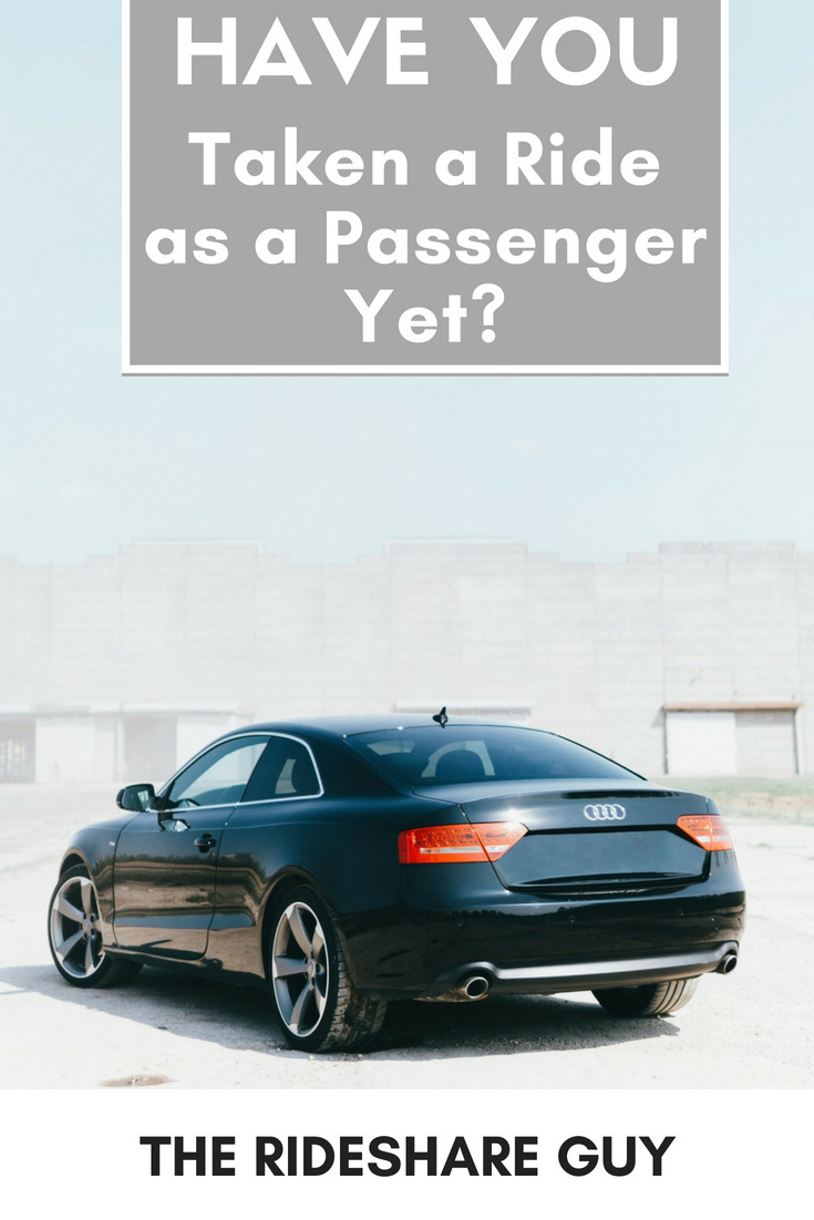 Have You Taken a Ride as a Passenger Yet? Before Uber and Lyft came around I would do pretty much anything to avoid taking a taxi. My friends and I would walk to the bars, bike to the bars, hitch rides with our parents, etc. #passenger #ride