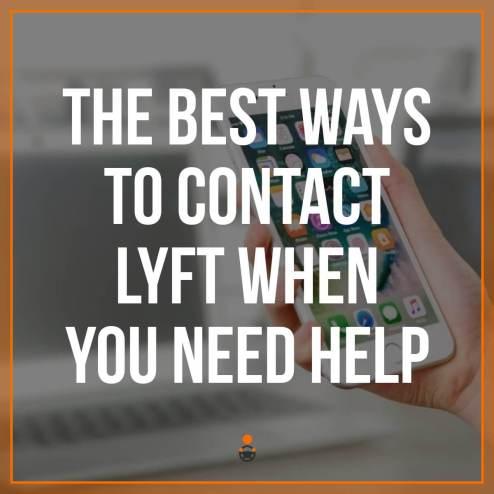 Contact Lyft Customer Service