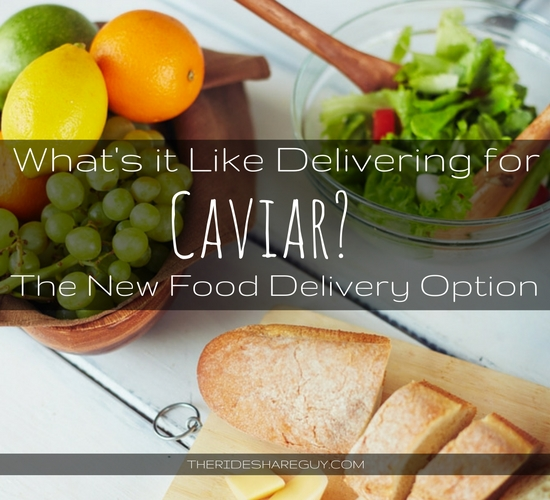 Caviar Driver - What's It Like To Be a Courier for Caviar?