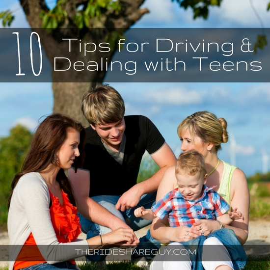 While we all know it's not legal to transport teens on Uber and Lyft, we all get passenger requests for teens. Here are 10 tips for driving teen passengers.