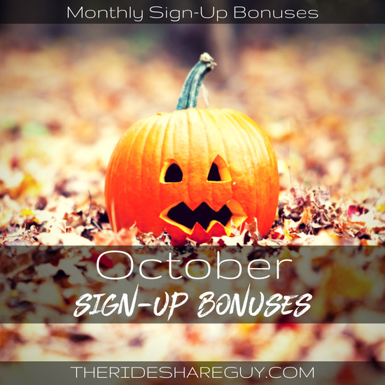 With the busy holiday season approaching, that means sign up bonuses are bigger and better. Check out our October sign up bonus update here!