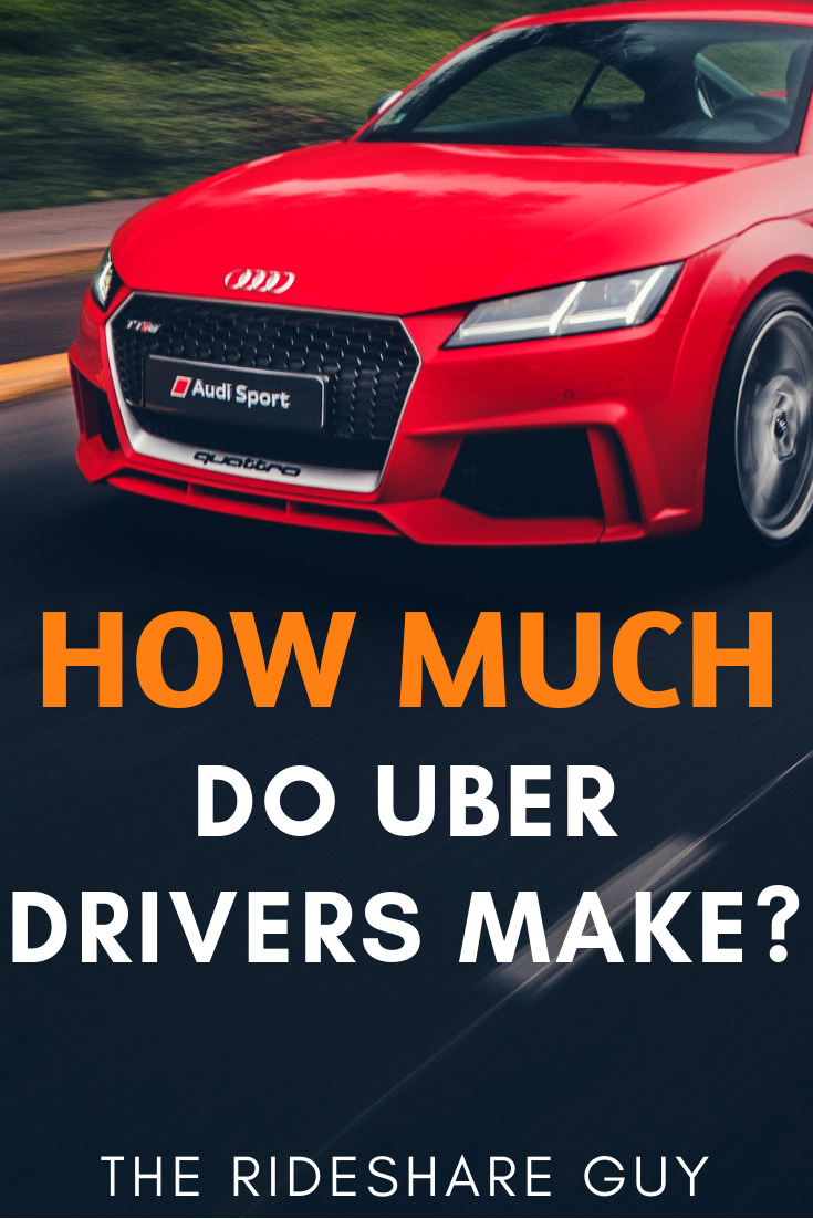 How Much Do Uber Drivers Make? If you're looking to get rich from driving for Uber, you're probably going to be a little disappointed.  But if you're looking to make a few hundred bucks part-time, work for a few months while you job hunt or even replace a crappy full-time job, this could be the perfect gig for you. #Uber #ridesharing #rideshare #makemoney