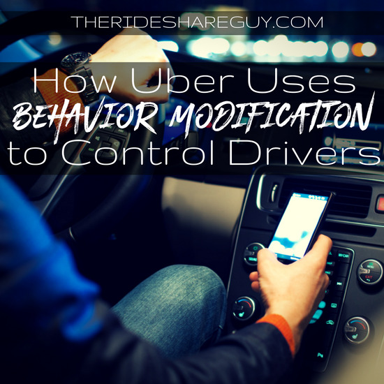 It might sound crazy, but there is evidence Uber uses behavior modification to train drivers to drive better and more often. Have you noticed these tactics?