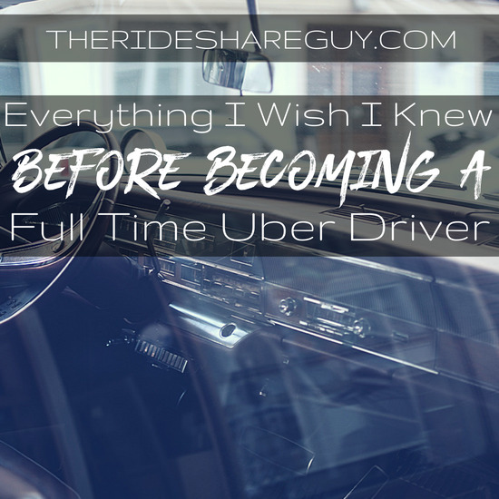 After several years of driving, Christian shares what he would have done differently before becoming a full time Uber and Lyft driver.