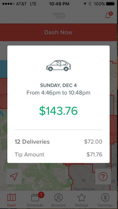 Doordash Driver Pay: How much money I made