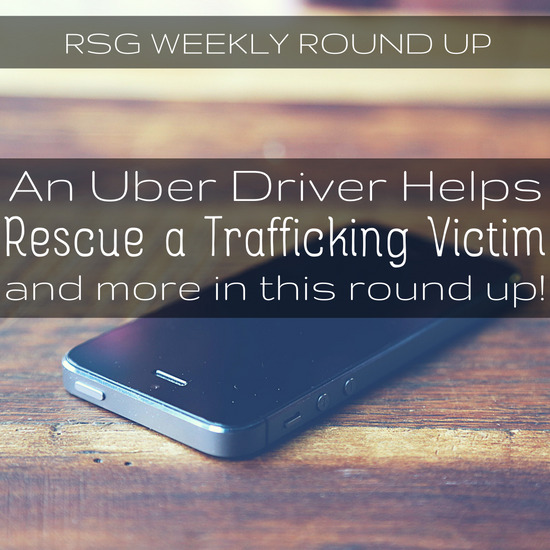 This week's round up is wild! An Uber driver helps a teenager escape suspected pimps, is Uber infiltrating the government? And more!