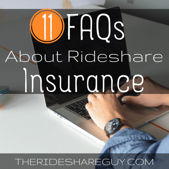 Rideshare insurance is a tricky and complicated topic, but we break it down for you here with our 11 FAQs about rideshare insurance.