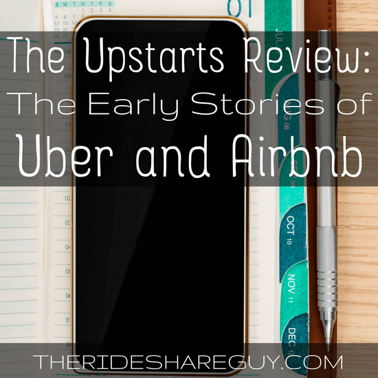 The Upstarts is a new book by NY Times best selling author Brad Stone about the early days of Uber & Airbnb. Check out our Upstarts review here -