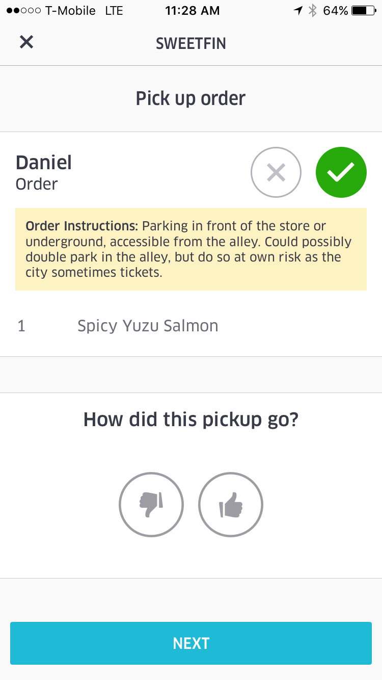uber eats driver requirements los angeles