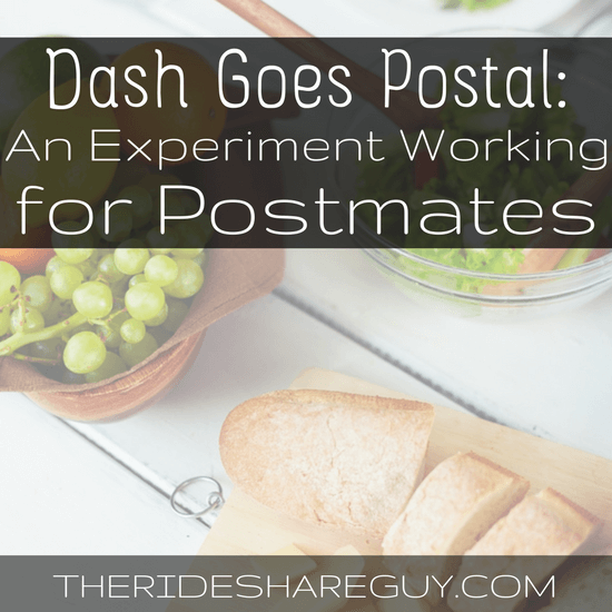 What's it like really driving for Postmates? We sent Dash out to try delivering for Postmates - and it didn't go so well...