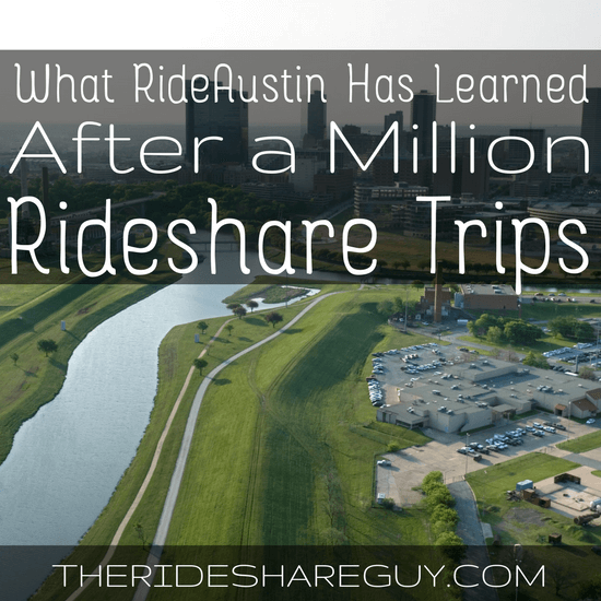 Have you heard about RideAustin? I interview Andy Tryba, CEO of RideAustin, on the behind the scenes of operating a rideshare company.