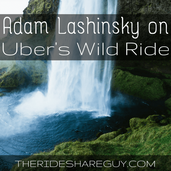 In episode 056, we interview Adam Lashinsky, whose book Wild Ride: Inside Uber's Quest for World Domination chronicles TK, driving, and more.