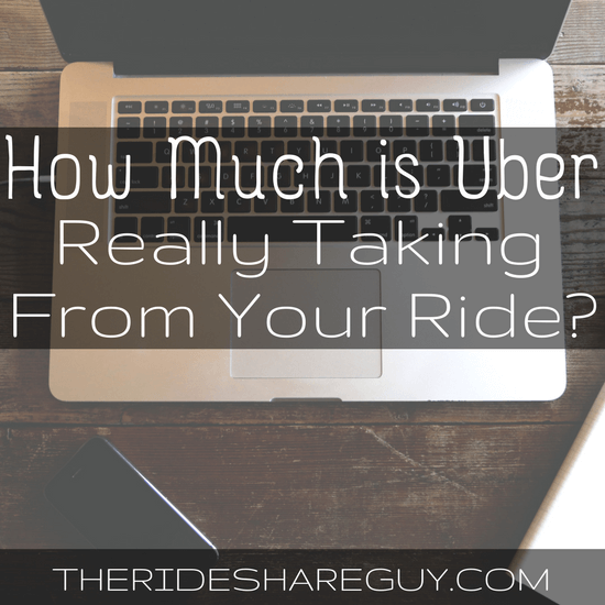 How much is Uber really taking from your ride? The answer may surprise you! We cover the complicated question of how much Uber really is taking -