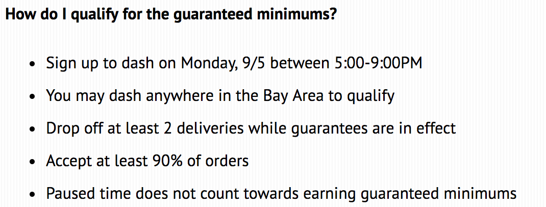 Everything You Need to Know About DoorDash Guaranteed Pay
