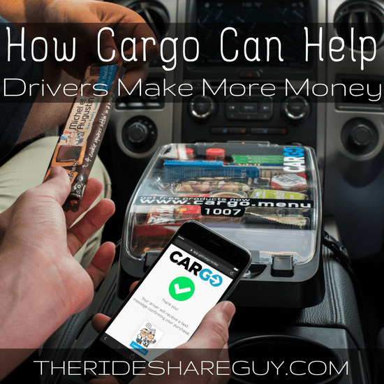 When Do Uber Drivers Get Paid >> Cargo Box For Uber & Lyft Drivers - Sell Snacks & Get Paid