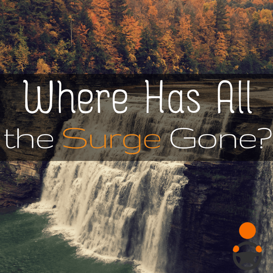 Are Surge and Primetime gone for good? We analyze what's been happening to Surge/PT, why, and what it means for drivers here -