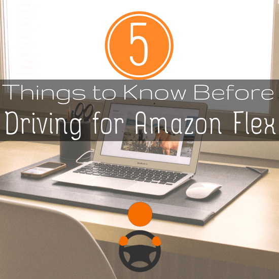5 things to know about driving for Amazon Flex before you get started