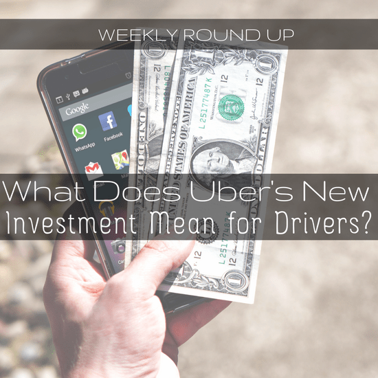 It looks like the new investment from Softbank is going through, and what does this mean for the future of Uber? That and other stories covered here -
