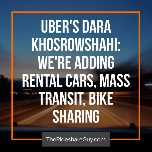 With all of the news about the new Uber driver appand the Uber/driver Q&A, you may be wondering what else is going on in the rideshare/shared mobility world. In this round up, senior RSG contributor John Incecovers Uber's move to mass transit and e-bikes, how Uber (and other companies like it) could combat harassment, and what a typical Lyft driver could expect to make.