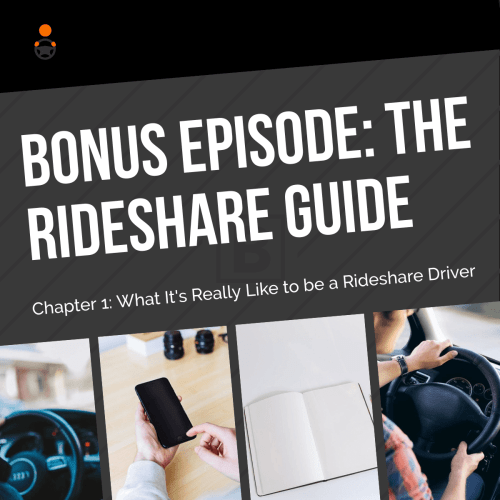 The Rideshare Guide is officially live today! You can buy it online at the booksellers below, or you can buy it from your local bookstore using this link. In this bonus episode of The Rideshare Guy podcast, I give you a preview audiobook version of Chapter One of The Rideshare Guide. Feel free to play this in your car while you're driving to give your passengers some perspective on what it's like to be a driver!