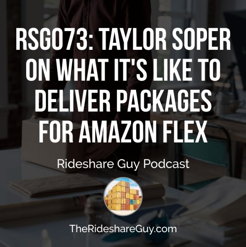 RSG073: Taylor Soper On What It's Like To Deliver Packages