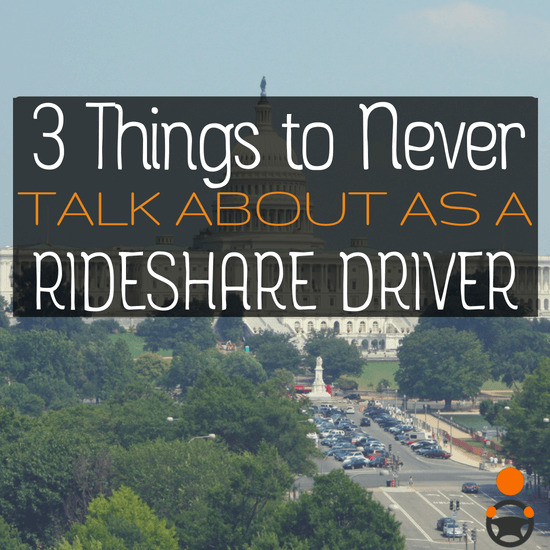 One question we occasionally get at RSG is 'what should I talk about as a driver?' While there are many things you can talk about as a driver, should you talk about everything? Senior RSG contributor Jay Cradeur covers the three things you shouldn't talk about while rideshare driving. Let us know in the comments if you agree or disagree!
