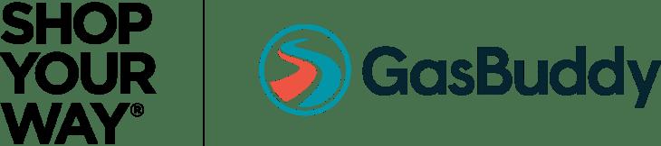 image of Shop Your Way and GasBuddy's Partnership logo