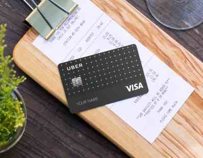 Uber Credit Card by VISA