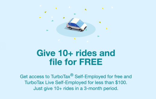 Lyft's partnership with TurboTax