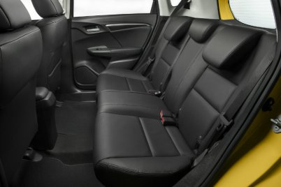 inside of Honda Fit