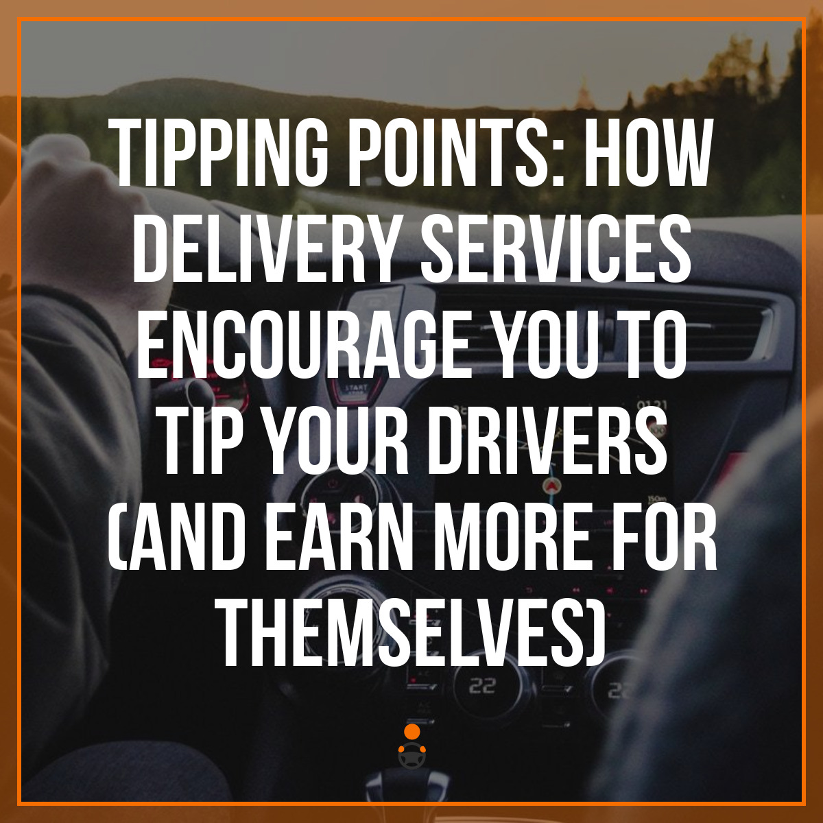 do you have to tip postmates drivers