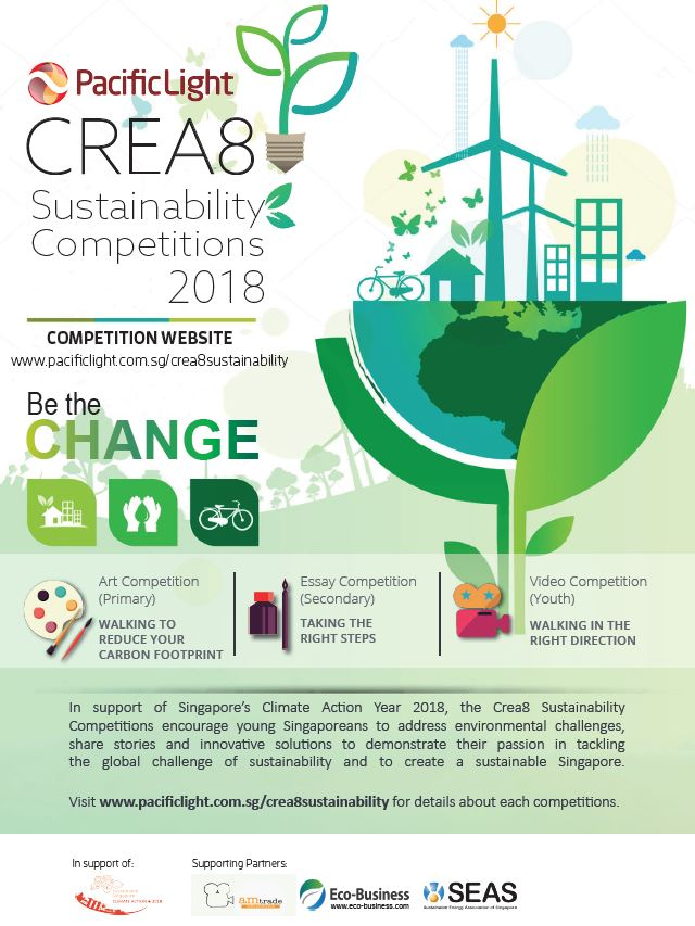 2018 Crea8 Sustainability Competition for Institutes of Higher Learning