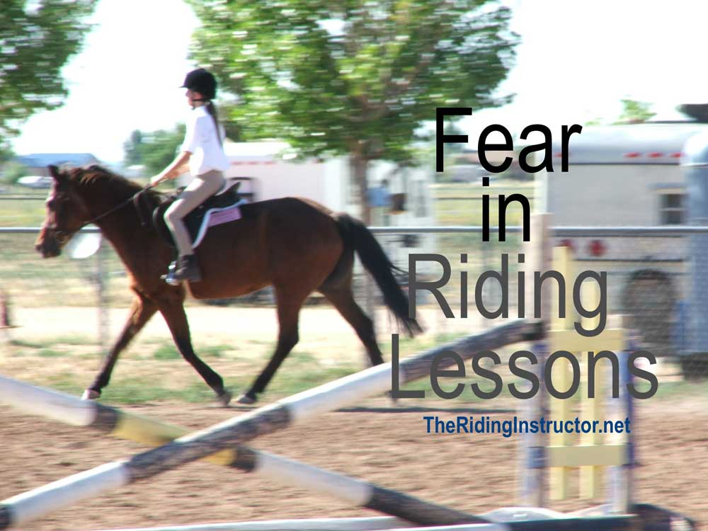 Types of Fear in Riding Lesson Students