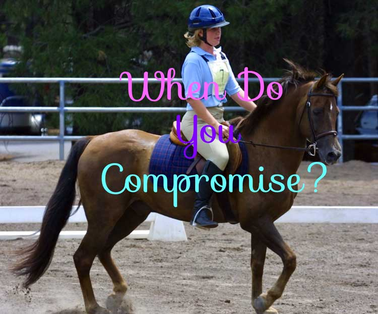 Do You Compromise When You Teach Horseback Riding?