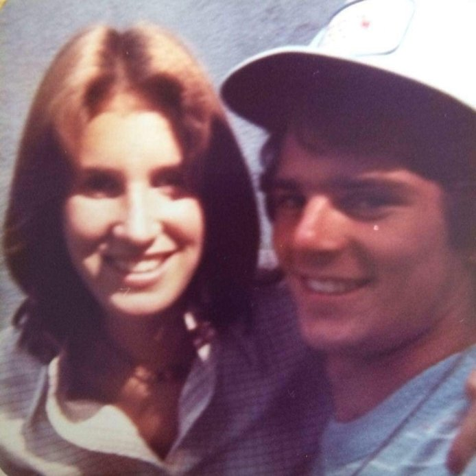 Hollie & Rick in high school after Michelle's birth