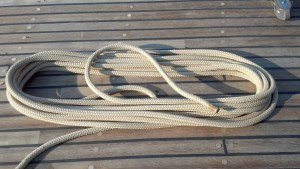 New Running Rigging on a 109 Year Old 60' Sloop!
