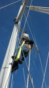 Unstepping the mast Rigging Company Style