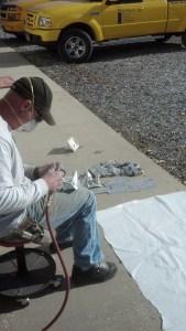 Mast and Spar Paint Prep