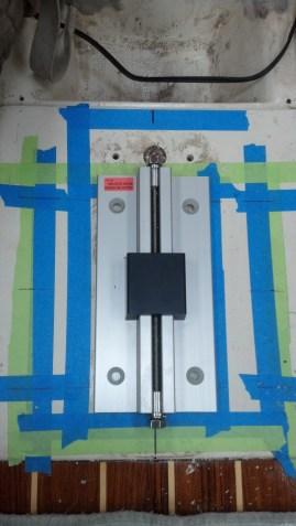 Positioning the New Mast Step. Yamaha 36.