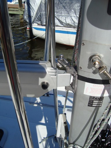 New US Spars Boom w/ Custom Tack Pin W/ Slab Reef Hook