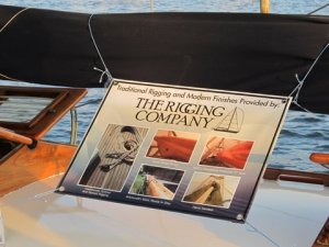 The Rigging Company and the Yacht Witchcraft at the U.S. Boat Show