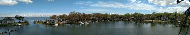 Panoramic Picture of water...so beautiful