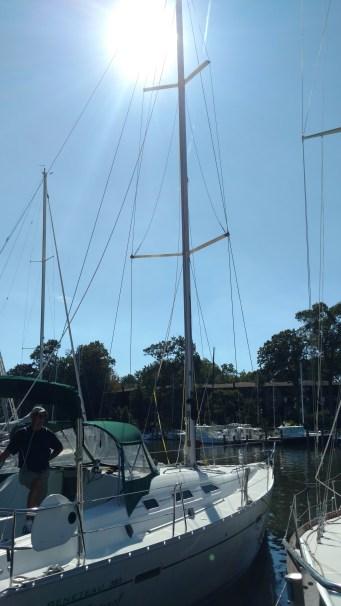 Benmetea 393 New Mast by US Spars. Z Spars